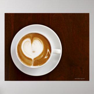 Cappuccino con amor póster