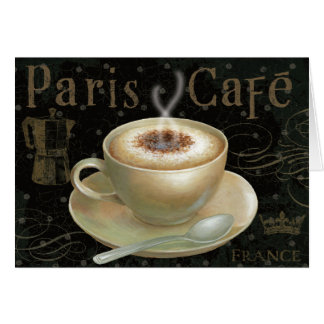 Cappuccino Cup Card