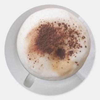 Cappuccino Cup Sticker