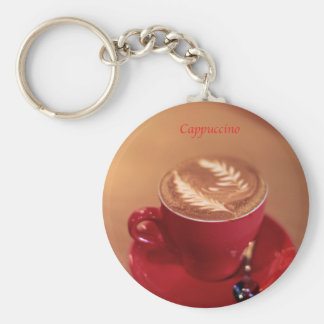Cappuccino Key Chain