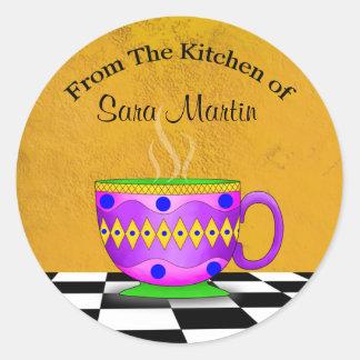 Cappuccino Kitchen Stickers