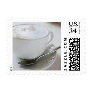 Cappuccino Mug Postage Stamp