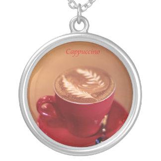 Cappuccino Round Pendant Necklace