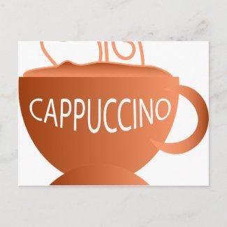 Cappuccino Post Card