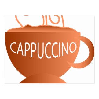 Cappuccino Postcard