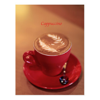 Cappuccino Post Cards