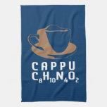 Cappuccino químico toalla