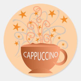 cappuccino stickers