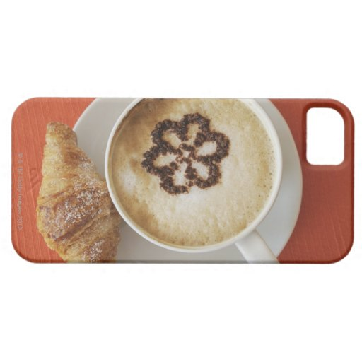 Cappuccino with chocolate and a croissant, Italy Blackberry Case