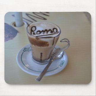 Cappuccino with heart - Roma Mouse Pad