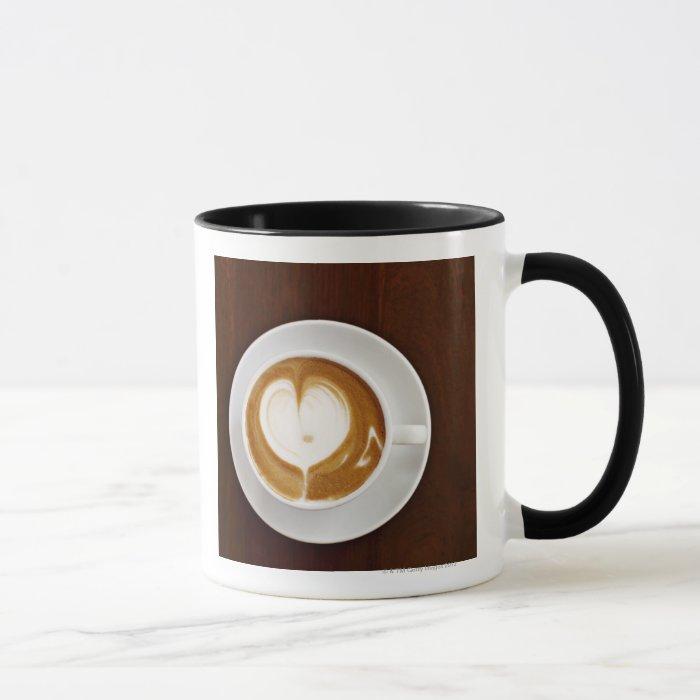 Cappuccino with love mug