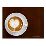 Cappuccino with love post cards