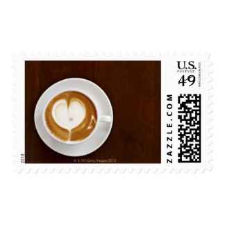 Cappuccino with love postage