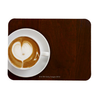 Cappuccino with love vinyl magnet