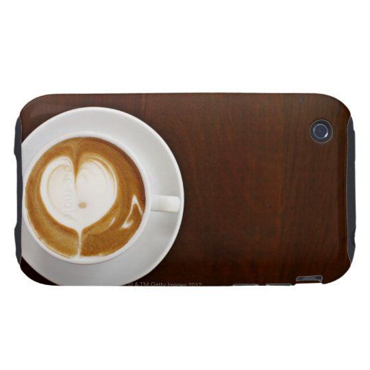 Cappuccino with love tough iPhone 3 cover