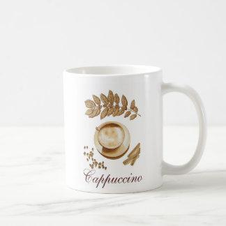 Cappuccino y canela tazas