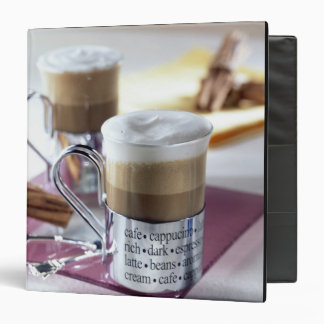 Cappucino For use in USA only.) 2 Vinyl Binders