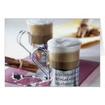 Cappucino For use in USA only.) 2 Greeting Card
