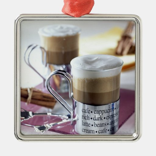 Cappucino For use in USA only.) 2 Christmas Tree Ornament