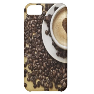 Cappucino Heart Cafe iPhone 5C Cases