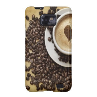 Cappucino Heart Cafe Samsung Galaxy SII Covers
