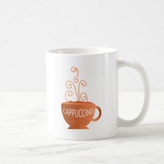 Cappucino Classic White Coffee Mug