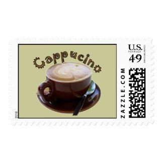 Cappucino Mug Postage Stamps