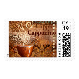 Cappucino Postage Stamps