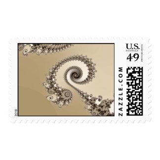 Cappucino Postage Stamp