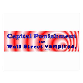 CapPunWallStVampires Postcard