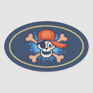 Cappy Oval Sticker