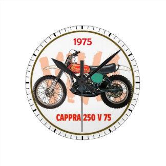 Capra 250 V 75 Reloj Redondo Mediano