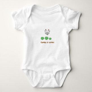 Capra e cavoli baby bodysuit