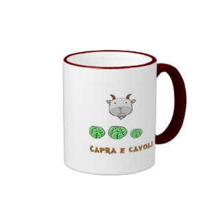 Capra e cavoli coffee mug