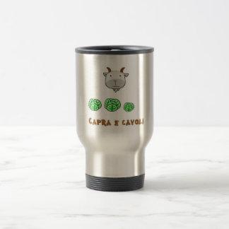 Capra e cavoli travel mug