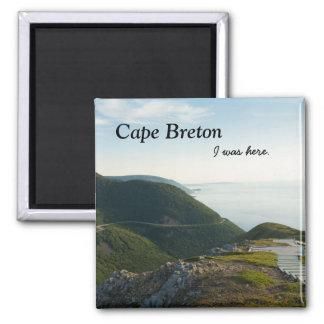 Capre Breton (Skyline Trail) 2 Inch Square Magnet
