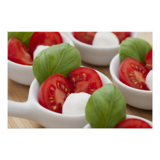 Caprese Appetizer Poster