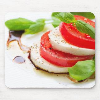 Caprese Salad. Tomato and Mozzarella slices Mousepads