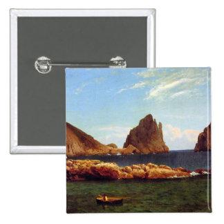 Capri - Albert Bierstadt Pin