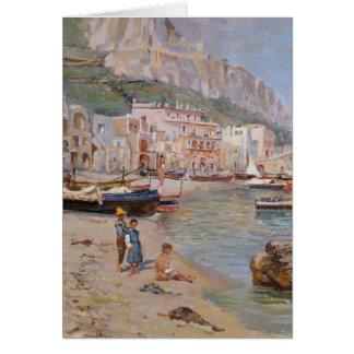 Capri - Antonino Leto Tarjeta De Felicitación