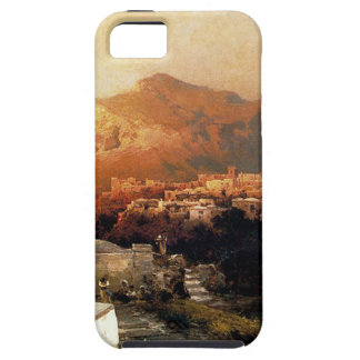 Capri by Franz Richard Unterberger iPhone SE/5/5s Case