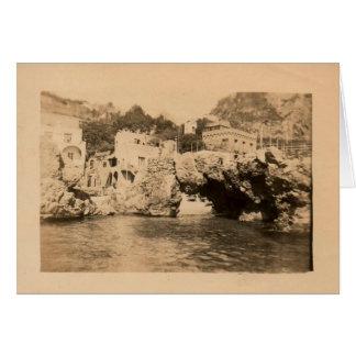 Capri, Italia 1944 Tarjeta De Felicitación