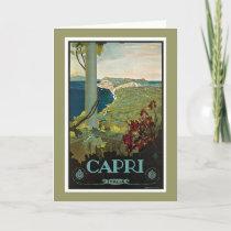 Capri Italia Italy Vintage Card