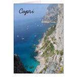 Capri, Italia Tarjeta Pequeña