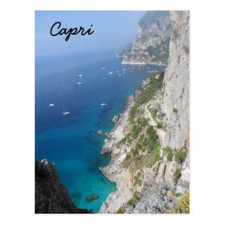 Capri, Italia Tarjeta Postal