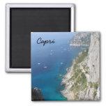 Capri, Italy 2 Inch Square Magnet