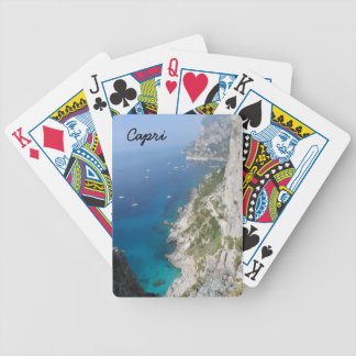 Capri, Italy Bicycle Playing Cards