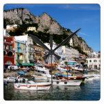 Capri, Italy clock