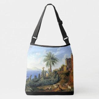 Capri Italy Island Ocean Shoulder Tote Bag