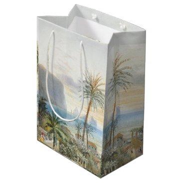 Beach Themed Capri Italy Islands Ocean Palm Trees Sea Gift Bag